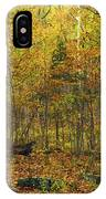 Autumn Red Was Blood Red IPhone Case