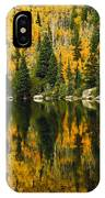 Autumn Reflections At Bear Lake IPhone Case