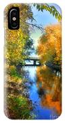 Autumn Reflections On A Friday Afternoon IPhone Case