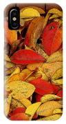 Autumn Remains 2 IPhone Case