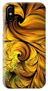 Autumn Returns Abstract IPhone Case