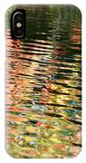 Autumn River Water Reflections  IPhone Case