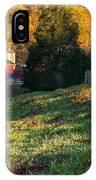 Autumn Road Morning IPhone Case
