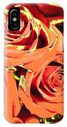 Autumn Roses On Your Wall IPhone Case