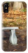 Autumn Seat IPhone Case
