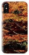 Autumn Solarisation 1 IPhone Case