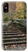 Autumn Stone Staircase IPhone Case
