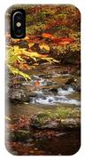 Autumn Stream Square IPhone Case