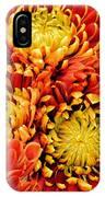 Autumn Sunrise Bouquet IPhone Case