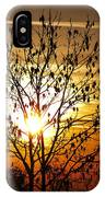 Autumn Tree In The Sunset IPhone Case