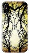 Autumn Tree Veins IPhone Case