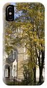 Autumn Trees In A Park Riga Latvia IPhone Case