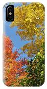Autumn Treetops IPhone Case