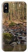 Autumn Tributary Path IPhone Case