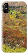 Autumn Tundra With Boreal Forest IPhone Case