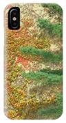 Autumn Vine And Evergreen IPhone Case