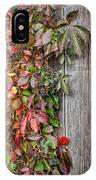 Autumn Vine IPhone Case