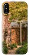 Autumn Walk In Pinehurst IPhone Case