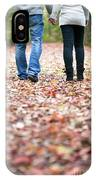 Autumn Walk In The Woods IPhone Case
