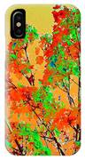 Autumn Watercolor Painting IPhone Case
