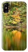 Autumn Watercolor Reflections IPhone Case