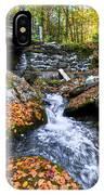 Autumn Waterfall IPhone Case