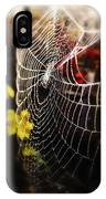 Autumn Web IPhone X Case