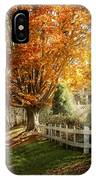 Autumn - Westfield Nj - I Love Autumn IPhone Case