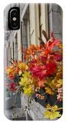 Autumn Window Box IPhone X Case