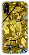 Autumn Yellow IPhone Case