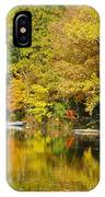 Autumn Yellow Reflections IPhone Case
