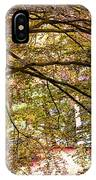 Autumnal Colors In The Summer Time. De Haar Castle Park IPhone Case