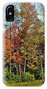 Autumnal Foliage IPhone Case