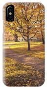 Autumnal Park IPhone Case