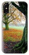 Autumnal Path IPhone Case