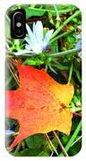 Autumns First Leaf IPhone Case