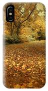 Autumn's Passage IPhone Case