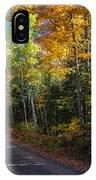 Autumns Road IPhone Case