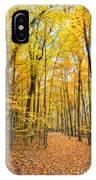 Autumn's Splendor IPhone Case