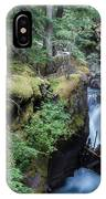 Avalanche Creek In Cedar Forest IPhone Case