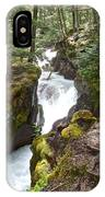 Avalanche Creek In Glacier Np-mt IPhone Case