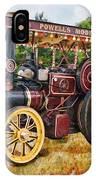 Aveling And Porter Showmans Tractor IPhone Case