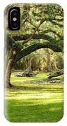 Avery Island Oaks IPhone Case