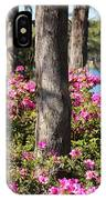 Azalea At The Lake IPhone Case