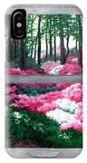 Azalea Bowl Overlook Gardens IPhone Case