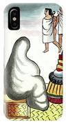 Aztec Burial Ritual IPhone Case