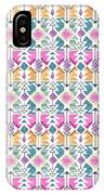 Aztec Inspired Arrow And Geometric Pattern One.jpg IPhone Case