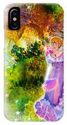 Azuria In Her Banquet Gown IPhone Case