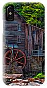 Babcock State Park Paint IPhone Case