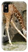 Baby Giraffe 1 IPhone Case